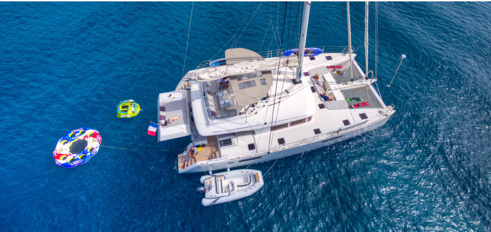 Location catamaran BVI